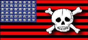 Bandera de los Estados Unidos según Mark Twain